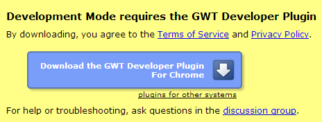 GWT browser plugin